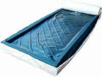 Leichtwasserbett Matratze - 10cm hoch inkl. Sicherheitsfolie